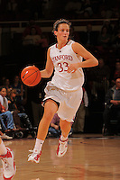 Stanford, CA - DECEMBER 28:  Forward Jillian Harmon #33 of the Stanford Cardinal during Stanford's 84-49 win against the UC Davis Aggies on December 28, 2008 at Maples Pavilion in Stanford, California.