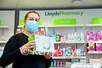 Staff member Vera Heim at Lloyds pharmacy, Ashe street, Tralee.