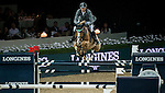 Henrik von Eckermann of Germany rides Gotha FRH in action at the Longines Grand Prix during the Longines Hong Kong Masters 2015 at the AsiaWorld Expo on 15 February 2015 in Hong Kong, China. Photo by Aitor Alcalde / Power Sport Images