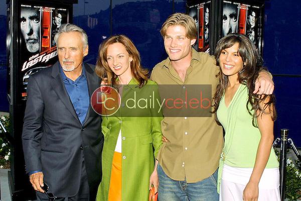 Dennis Hopper, Victoria Hopper, Chris Carmack and Nadine Velazquez