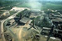Empresa de ferro gusa Cosipar.<br /> Marabá, Pará, Brasil<br /> Foto Paulo Santos/Interfoto
