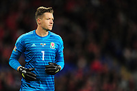 Wayne Hennessey of Wales during the UEFA Nations League B match between Wales and Ireland at Cardiff City Stadium in Cardiff, Wales, UK.September 6, 2018
