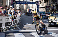 Koen Bouwman (NED/Jumbo-Visma)<br /> <br /> 104th Giro d'Italia 2021 (2.UWT)<br /> Stage 21 (final ITT) from Senago to Milan (30.3km)<br /> <br /> ©kramon