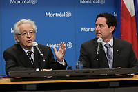 Montreal (Qc) CANADA - April, 2012 File Photo - Michael Applebaum, President Executive Commitee City of Montreal (R) - Michael Applebaum is one of the possible replacement of Mayor Gerald Tremblay who resigned November 5, 2012.