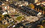 Aerial of Humboldt Gardens residental area, Portland, Oregon
