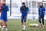 St Johnstone Training...   21.01.21<br />Chris Kane pictured during training at McDiarmid Park ahead of Saturday's BetFred Cup semi-final against Hibs at Hampden.<br />Picture by Graeme Hart.<br />Copyright Perthshire Picture Agency<br />Tel: 01738 623350  Mobile: 07990 594431