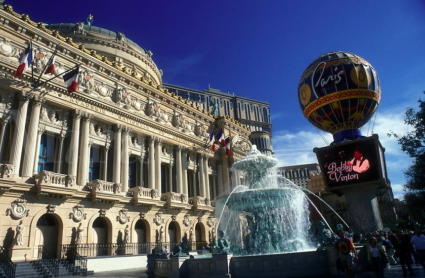 Las Vegas, Nevada, Paris Las Vegas Resort & Casino, NV, Paris Resort & Casino on The Strip in Las Vegas, the Entertainment Capital of the World.