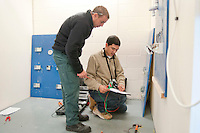 Student electricians, Able Skills, Dartford, Kent.