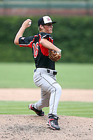 August 18 2008:  Ian Krol (16) of the Baseball Factory team during the 2008 Under Armour All-American Game at Wrigley Field in Chicago, IL.  Photo by:  Mike Janes/Four Seam Images