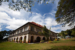 The San Antonio de Padua Church monastery, loacted across the street from the church, in the town of Lazi on the island of Siquijor, Philippines.