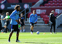 Sheffield Wednesday's Isaiah Brown during the pre-match warm-up <br /> <br /> Photographer Ian Cook/CameraSport<br /> <br /> The EFL Sky Bet Championship - Bristol City v Sheffield Wednesday - Sunday 27th September, 2020 - Ashton Gate - Bristol<br /> <br /> World Copyright © 2020 CameraSport. All rights reserved. 43 Linden Ave. Countesthorpe. Leicester. England. LE8 5PG - Tel: +44 (0) 116 277 4147 - admin@camerasport.com - www.camerasport.com