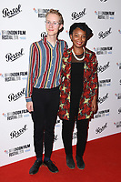 Charlie Lyne and Rungano Nyoni<br /> arriving for the London Film Festival Awards, Vue Leicester Square, London<br /> <br /> ©Ash Knotek  D3452  20/10/2018