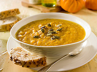 Pumpkin & Bacon Soup