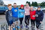 Roy Byrne, Mike Hogan, Hilary Fitzgerald, Carol Wrenn, Debra Dillon and Shirley Byrne attending the Kerrie Browne memorial 5K Walk and Run in Brosna on Sunday
