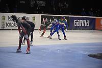 SPEEDSKATING: DORDRECHT: 06-03-2021, ISU World Short Track Speedskating Championships, SF 5000m Relay, (ITA), (RSU), (CAN), ©photo Martin de Jong