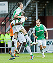 09/05/2010   Copyright  Pic : James Stewart.sct_js017_dundee_utd_v_hibernian  .::  COLIN NISH CELEBRATES WITH SOL BAMBA AFTER HE SCORED THE SECOND ::  .James Stewart Photography 19 Carronlea Drive, Falkirk. FK2 8DN      Vat Reg No. 607 6932 25.Telephone      : +44 (0)1324 570291 .Mobile              : +44 (0)7721 416997.E-mail  :  jim@jspa.co.uk.If you require further information then contact Jim Stewart on any of the numbers above.........