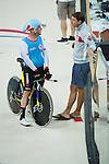 Ross Wilson, Rio 2016 - Para Cycling // Paracyclisme.<br /> Para Cycling participates in a track cycling training session // Para Cycling participe à une session d'entraînement de cyclisme sur piste. 06/09/2016.