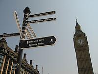 Sightseeing, London