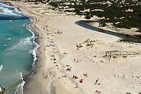 Plage de L'Ostriconi bei der Mündung des Ostriconi in der Bucht von Peraiola in der Balagne, Korsika, Frankreich