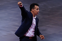 9th October 2020; Palau Blaugrana, Barcelona, Catalonia, Spain; UEFA Futsal Champions League Finals; Mrucia FS versus MFK Tyumen; Raul Glustozzi head coach of ElPozo Murcia