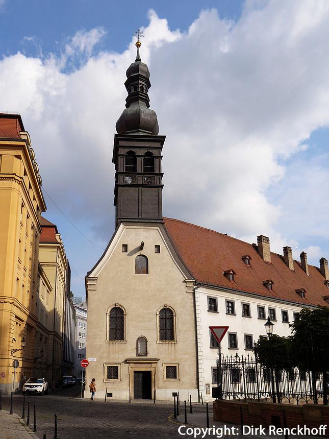 Maria-Loretto-Kirche mit Ursulinenkloster, Bratislava, Bratislavsky kraj, Slowakei, Europa<br /> Maria-Loretto Church and Ursuline convent, Bratislava, Bratislavsky kraj, Slovakia, Europe