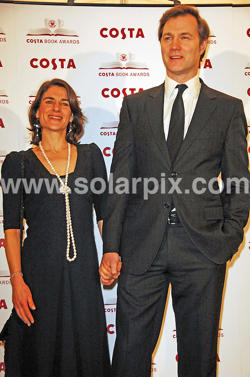 **ALL ROUND PICTURES FROM SOLARPIX.COM**.**WORLDWIDE SYNDICATION RIGHTS**.arrivals for the Costa Book Awards 2009 at the Intercontinental Hotel in London, UK. Tuesday January 27, 2009...This pic: David Morrissey..JOB REF: 8339 FMF     DATE: 27_01_2009.**MUST CREDIT SOLARPIX.COM OR DOUBLE FEE WILL BE CHARGED* *ONLINE USAGE FEE £50.00 PER PICTURE - NOTIFICATION OF USAGE TO PHOTO@SOLARPIX.COM*