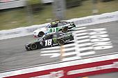 #11: Justin Haley, Kaulig Racing, Chevrolet Camaro LeafFilter Gutter Protection#18: Riley Herbst, Joe Gibbs Racing, Toyota Supra Monster Energy