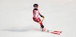 Mel Pemble, PyeongChang 2018 - Para Alpine Skiing // Ski para-alpin.<br /> Mel Pemble skis in the women's standing downhill // Mel Pemble skis en descente debout femmes. 10/03/2018.