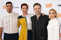 ZACHARY QUINTO, JULIANNE NICHOLSON, DIRECTOR MATTHEW NEWTON AND EMMA ROBERTS - RED CARPET OF THE FILM 'WHO WE ARE NOW' - 42ND TORONTO INTERNATIONAL FILM FESTIVAL 2017