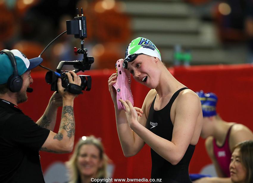 Gina McCarthy. Session 4. AON New Zealand Short Course Swimming Championships. Waterworld, Te Rapa, Hamilton. Wednesday 7 October 2020 Photo: Simon Watts/www.bwmedia.co.nz/SwimmingNZ