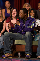 Toronto (ON) CANADA, July 17, 2007-<br /> <br /> Joining hosts Daryn Jones and Dan Levy in the pod for today's money-themed show is comedic actor Chris Tucker and his Rush Hour 3 director Brett Ratner.  They'll be talking about the third instalment of the comedy/action-adventure Rush Hour franchise slated for release this August.<br /> <br /> photo by Cody Bokshowan - Images Distribution