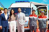 FESTIVAL TELEVISION DE MONTE CARLO - MISE EN SCENE 'CHICAGO MED' AVEC BRIAN TEE, COLIN DONNELL, TORREY DEVITTO