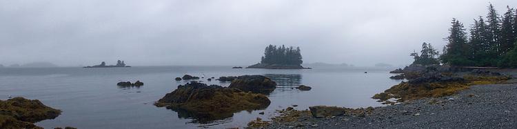 Rain, Ragged Point, Alaska, Prince William Sound,