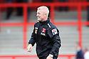Carlisle caretaker manager Graham Kavanagh celebrates at the final whistle<br />  - Stevenage v Carlisle Untied - Sky Bet League 1 - Lamex Stadium, Stevenage - 21st September, 2013<br />  © Kevin Coleman 2013
