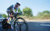 Wout Poels (NLD)<br /> <br /> Tour de France 2013<br /> stage 11: iTT Avranches - Mont Saint-Michel <br /> 33km