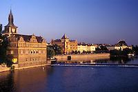 Prague, Vltava River, Czech Republic, Praha, Central Bohemia