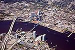 Jacksonville Aerial Views of the Skyline
