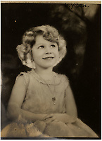 BNPS.co.uk (01202 558833)<br /> Pic: MarcusAdams/ChiswickAuctions/BNPS<br /> <br /> Princess Elizabeth in 1932.<br /> <br /> Charming childhood photos of Princess Elizabeth and Princess Margaret have come to light, including a previously unseen image of the future Queen in a kilt.<br /> <br /> The portraits, taken by acclaimed British society photographer Marcus Adams, capture the future Queen from being a baby to her adolescence.<br /> <br /> The Queen Mother would often take her daughters to his central London studio where he would set up toys and props to keep them entertained