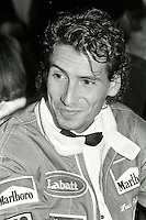 Montreal (Qc) Canada - June 9 1987 - Launch of '' Formula Un'' France -Quebec coproduced  TV serie - IN PHOTO : French actor Manuel Gelin