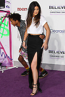"""LOS ANGELES, CA - DECEMBER 18: Jaden Smith and Kylie Jenner arrive at the World Premiere Of Open Road Films' """"Justin Bieber's Believe"""" held at Regal Cinemas L.A. Live on December 18, 2013 in Los Angeles, California. (Photo by Xavier Collin/Celebrity Monitor)"""