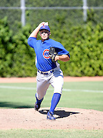 Steve Vento / Chicago Cubs 2008 Instructional League..Photo by:  Bill Mitchell/Four Seam Images