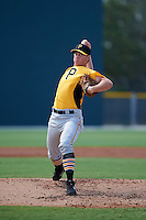Pittsburgh Pirates pitcher Neil Kozikowski (99) during an instructional league intrasquad black and gold game on October 2, 2015 at Pirate City in Bradenton, Florida.  (Mike Janes/Four Seam Images)