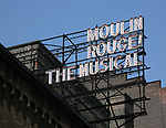 """""""Moulin Rouge!"""" - Theatre Marquee"""