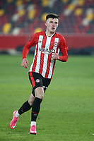 Alex Gilbert of Brentford during Brentford vs Middlesbrough, Emirates FA Cup Football at the Brentford Community Stadium on 9th January 2021