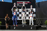 Race 1, Platinum Podium, #7 Wright Motorsports, Porsche 991 / 2018, GT3P: Maxwell Root, #79 Kelly-Moss Road and Race, Porsche 991 / 2019, GT3P: Roman DeAngelis, #53 Moorespeed, Porsche 991 / 2019, GT3P: Riley Dickinson