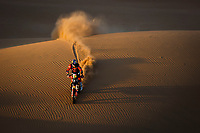 4th January 2021; Dakar Rally stage 2;  03 Price Toby (aus), KTM, Red Bull KTM Factory Team, Moto, Bike, action during the 2nd stage of the Dakar 2021 between Bisha and Wadi Al Dawasir, in Saudi Arabia on January 4, 2021