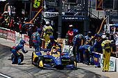 Alexander Rossi, Andretti Autosport Honda pit stop