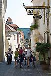 Austria, Lower Austria, UNESCO World Heritage Wachau, Duernstein: old town, Main Street