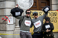 """21.03.2015 - UK Uncut: """"The Great British Tax Robbery: Citizens Arrest"""""""