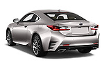 Car pictures of rear three quarter view of 2017 Lexus RC F-SPORT-Line 2 Door Coupe Angular Rear